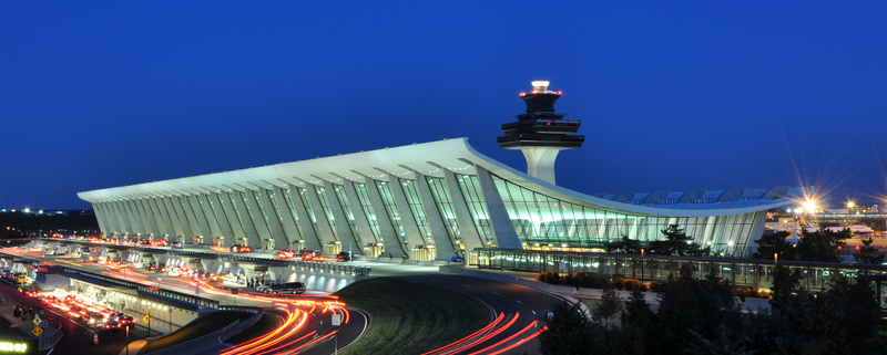 Dulles Airport at Dusk