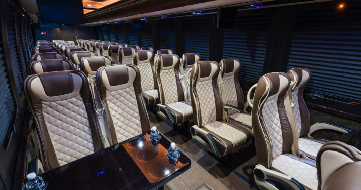 Coach Bus Luxury Charter in NYC